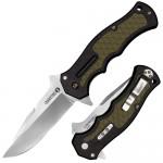 Нож CS_20MWC Crawford Model 1, складной,рукоять черно-зелен. Zy-Ex, клинок 4034SS