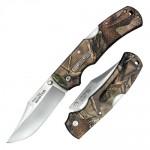 Нож CS_23JD Double Safe Hunter склад,рук-ть камуфл.GFN,клинок 8Cr13MoV