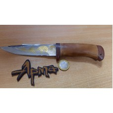 Нож НС 18 с позолотой