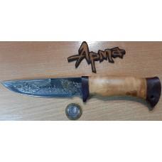Нож НС 19 с позолотой