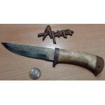 Нож НС 20 с позолотой