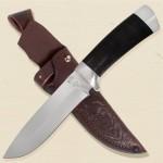 Нож Н6,ст.ЭИ-107,дюраль,кожа