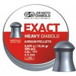 ПУЛЬКИ JSB EXACT HEAVY кал.4,52мм  0,67гр(500шт)