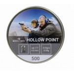 "ПУЛИ  ""BORNER HOLLOW POINT"" кал.4,5мм (500шт) 0,58г"