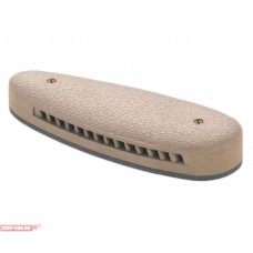 Тыльник для приклада 20мм, закругл, вентилир, коричневый